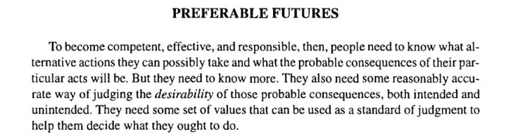 preferable futures